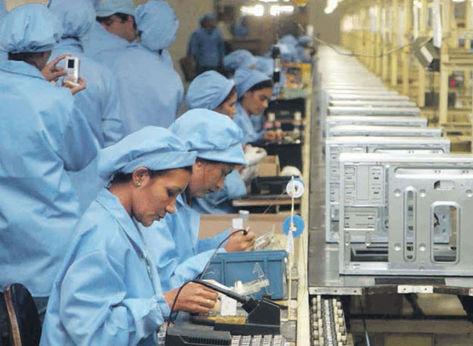 Auxiliar de produção industrial em Barueri SP