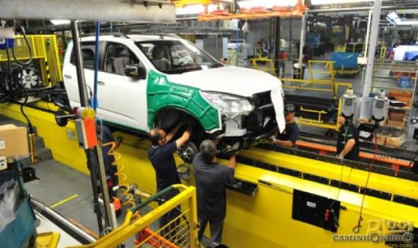 GM vai contratar 550 operários em São José para produção da S10